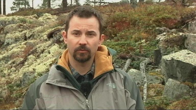Richard Åström, ordförande Handölsdalens sameby. Foto: Máret Steinfjell/ Sameradion&SVT Sápmi