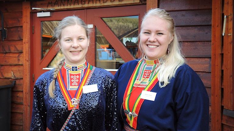 Magdalena Sandström och Maria Unnes. Foto: Sameradion & SVT Sápmi