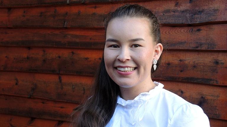 Inga Lill Sigga Mikkelsen. Foto: Sameradion & SVT Sápmi