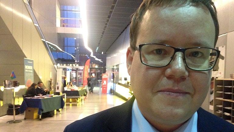 Olle Burell, Socialdemokraterna. Foto: Jörgen Heikki, SR Sameradion & SVT Sápmi.