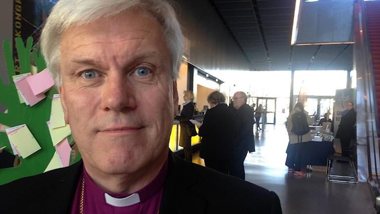 Biskop Hans Stiglund, Luleå stift. Foto: Jörgen Heikki, SR Sameradion & SVT Sápmi.