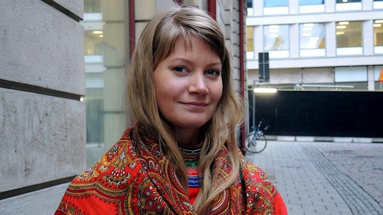 Josefina Lundgren Skerk. Foto: Sameradion & SVT Sápmi