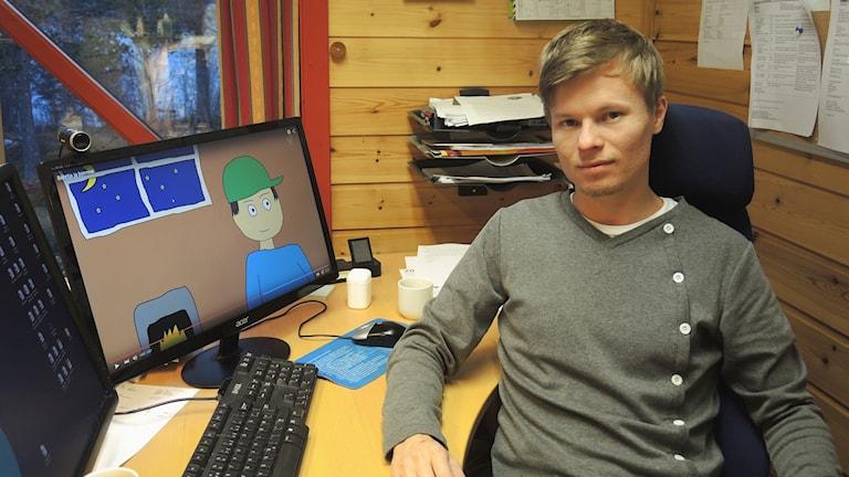 Johnny Andersen. Foto: Sameradion & SVT Sápmi