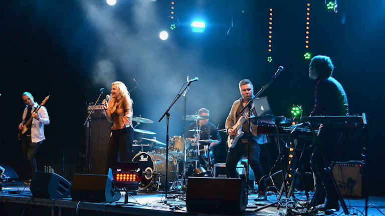 Mingá på Pitefolk 2015. Foto: Marica Blind/Sameradion & SVT Sápmi