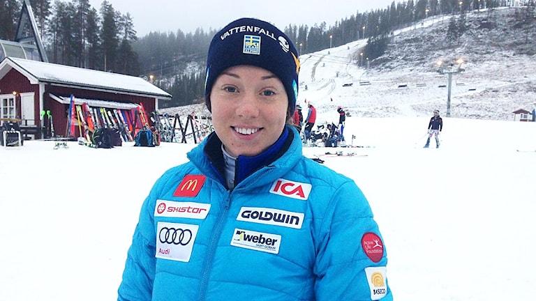 Magdalena Fjällström. Foto: Johnny Skoglund/ Sameradion & SVT Sápmi