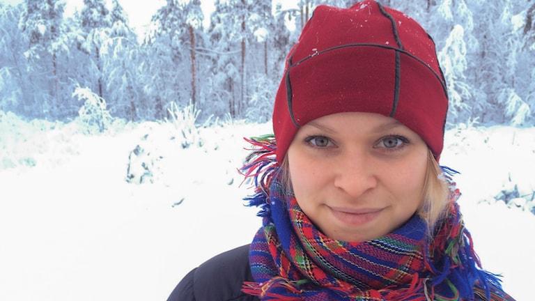 Jannie Staffansson. Foto: Ulf Larsson/ Sveriges Radio