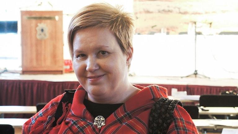 Christina Åhrén, Min Geaidnu. Foto: Sameradion & SVT Sápmi