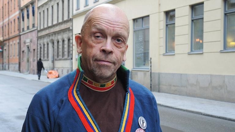 Stefan Mikaelsson. Foto: Olle Kejonen/ Sameradion & SVT Sápmi