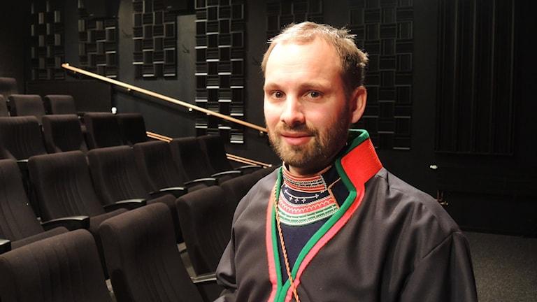Oskar Östergren. Foto: Olle Kejonen/ Sameradion & SVT Sápmi