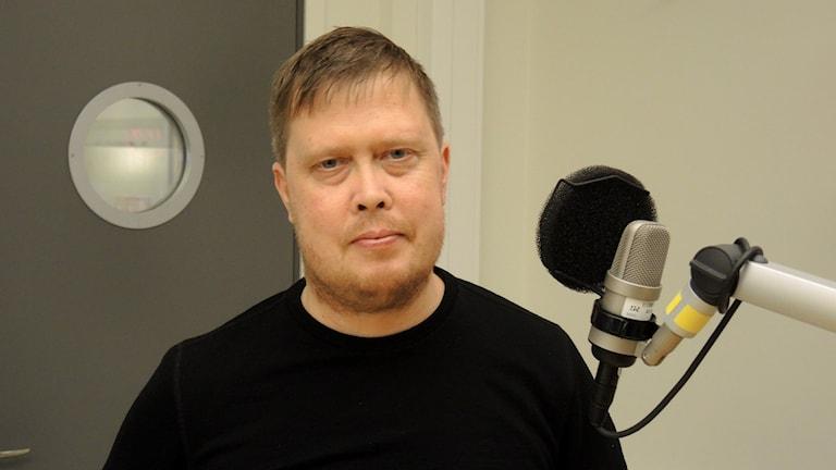 Mattias Åhren. Foto: Sameradion & SVT Sápmi