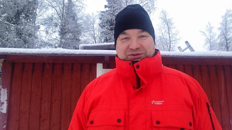 John Kuoljok. Foto: Anne-Máret Päiviö/ Sameradion & SVT Sápmi