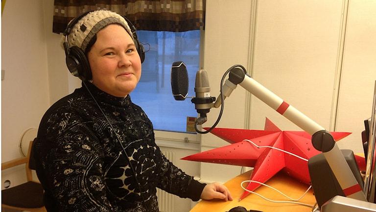 Sara Ajnnak. Foto: Marica Blind/Sameradion & SVT Sápmi