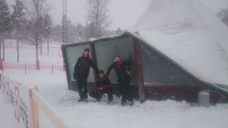 Vinterstudion under SM-veckan i Piteå. Foto: Privat