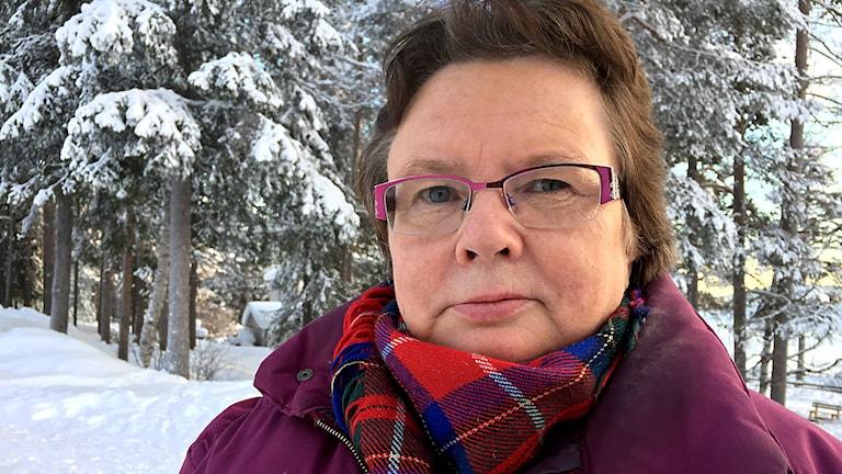 Åsa Blind. Foto: Máret Steinfjell/ Sameradion & SVT Sápmi