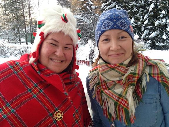 Lisa Utsi ja Jenny Israelsson Skoglund.