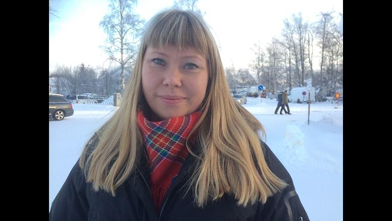Sara Inger Eline Sara på vintermarknaden