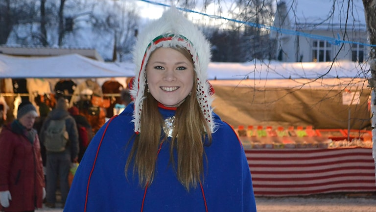 Tanja Nordfjell. Foto: Marica Blind/Sameradion & SVT Sápmi