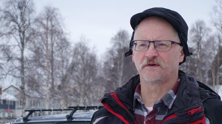 Jan Rannerud, partiledare Skogssamerna.