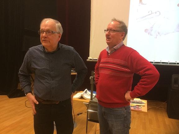 Ulf Lundström och Rolf Granstrand
