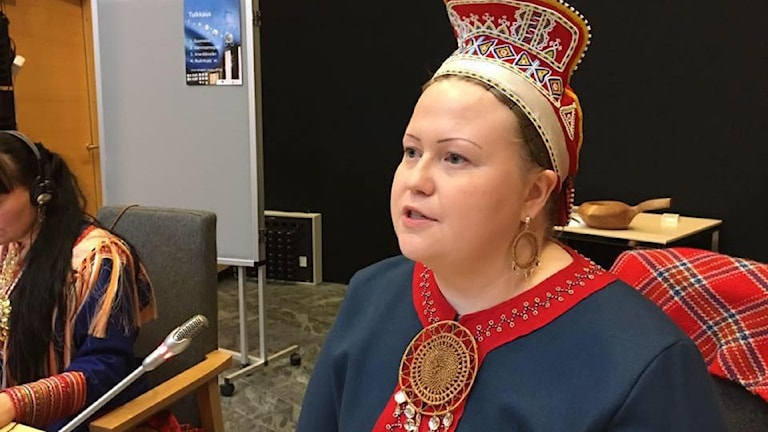 Tiina Sanila-Aikio. Foto: Pirita Näkkäläjärvi / Yle