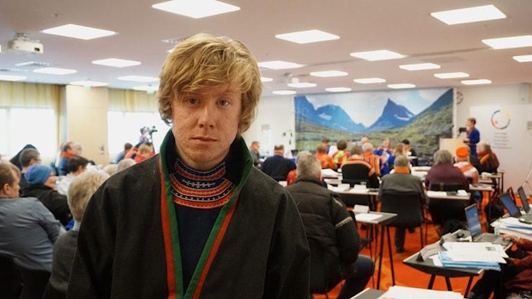 Gabinus Klemetsson Leek renskötare i Vilhelmina norra sameby.