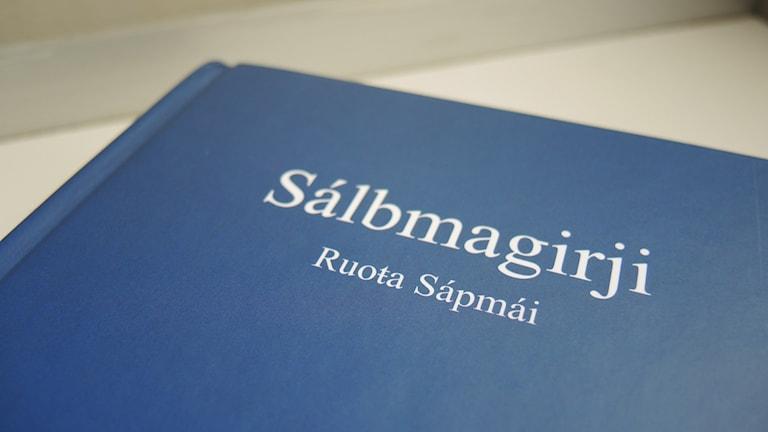 Nordsamisk psalmbok. Foto: Sameradion & SVT Sápmi