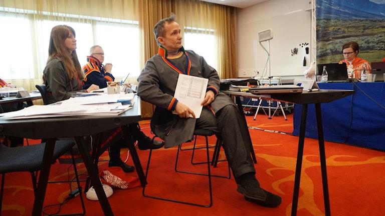 Håkan Jonsson (JoF) Sametingets styrelseordförande