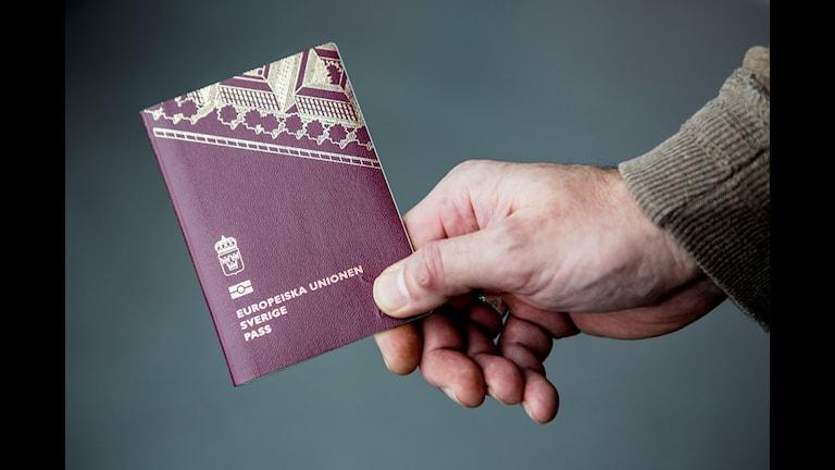 Från den 15 april gäller strängare regler för svenska pass, enligt ett riksdagsbeslut. Arkivbild.  Christine Olsson/TT
