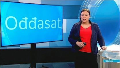Oddasat programledare Maret Biret Sara Oskal