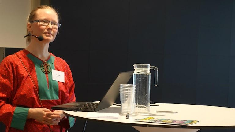 Kirsi Paltto, daglig ledare på E-skuvla.