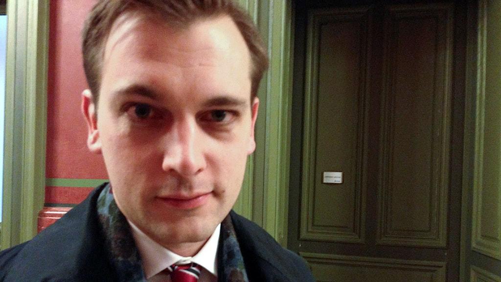 Statssekreterare Per Olsson Fridh