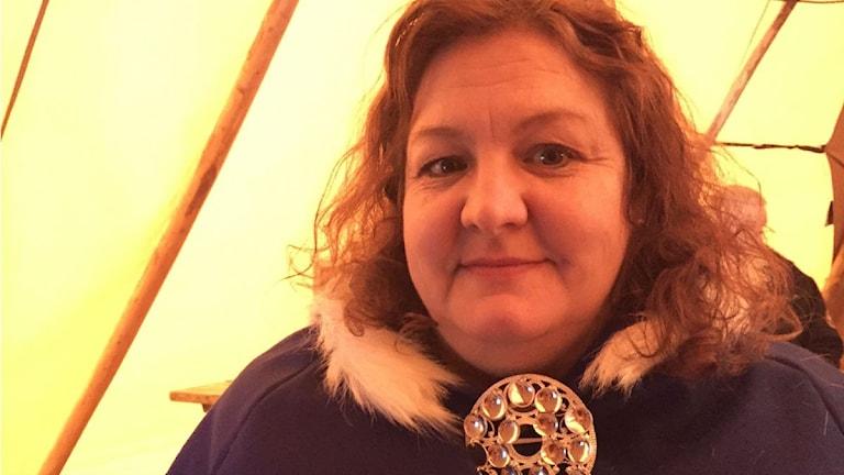 Anna Sara Stenvall Foto: Máret Steinfejll