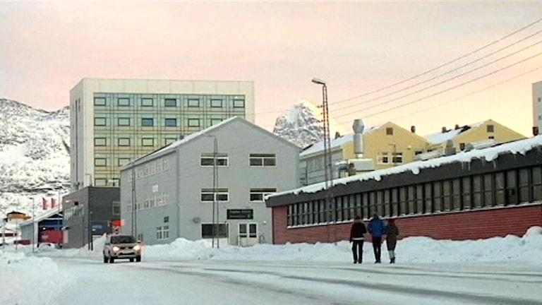 Kalaallit Nunaats huvudstad Nuuk.