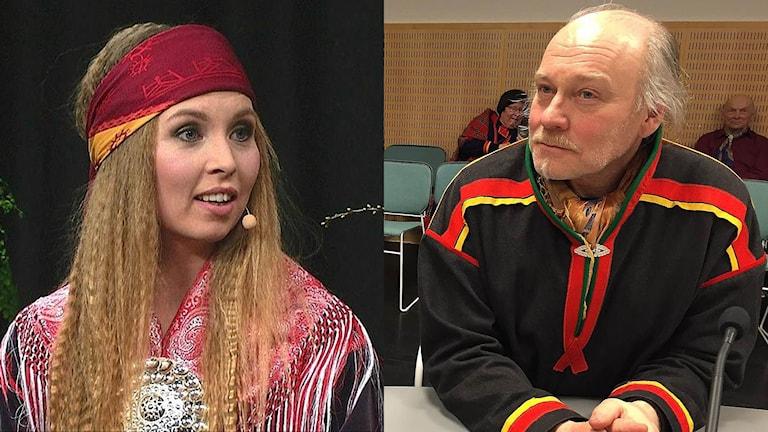 Sofia Jannok och Matti Berg