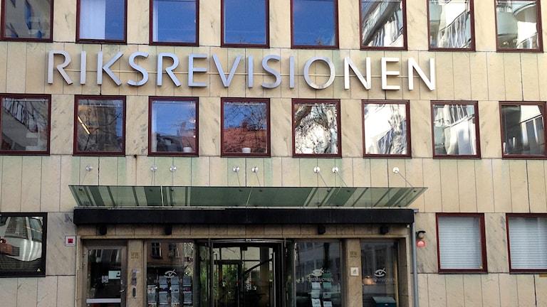Riksrevisionen. Foto: Jörgen Heikki, SR Sameradion & SVT Sápmi.