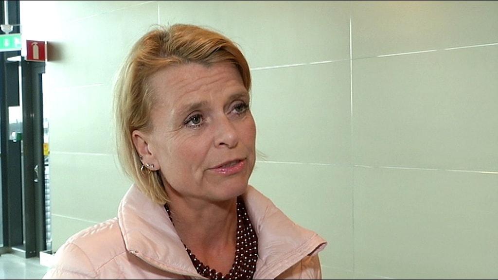 Åsa Regnér. Barn-, äldre- och jämställdhetsminister.