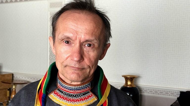 Svenska Sametingets styrelseordförande Håkan Jonsson