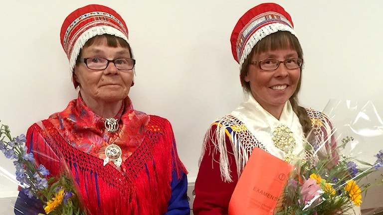 Elli-Maria Nutti och Carina Nutti Sikku