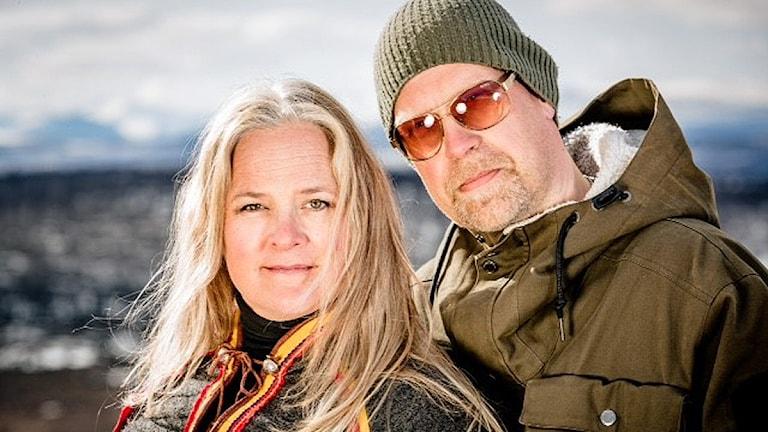 Yana Mangi och Tobbe Boström