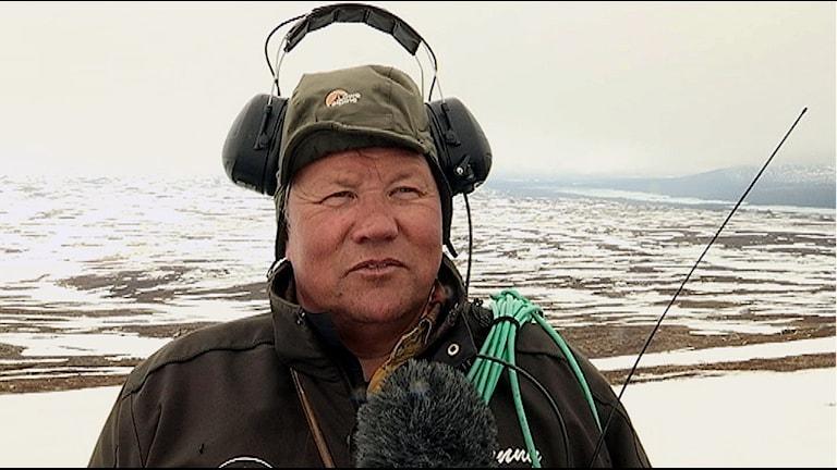 Renskötare Benny Jonsson Idre sameby