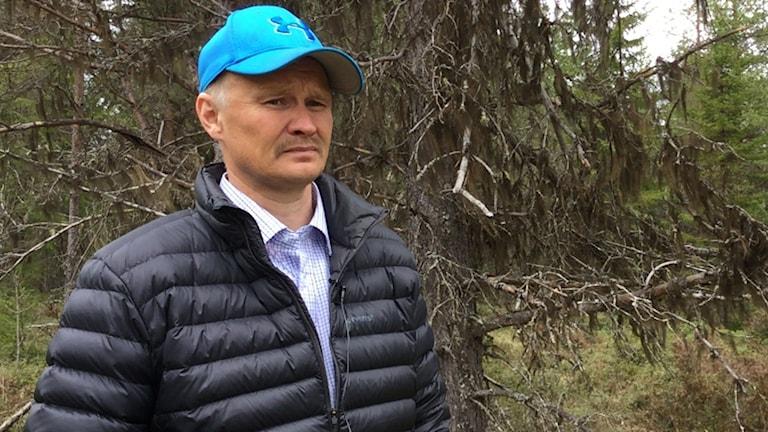 Kjell Ove Klemensson, ordförande i Jovnevaerie sameby.