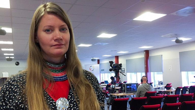 Josefina Skerk, vice styrelseordförande i Sametinget.