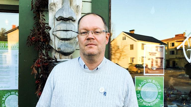 Morten Olsen Haugen, bibliotekarie Tröndelag länsbibliotek.