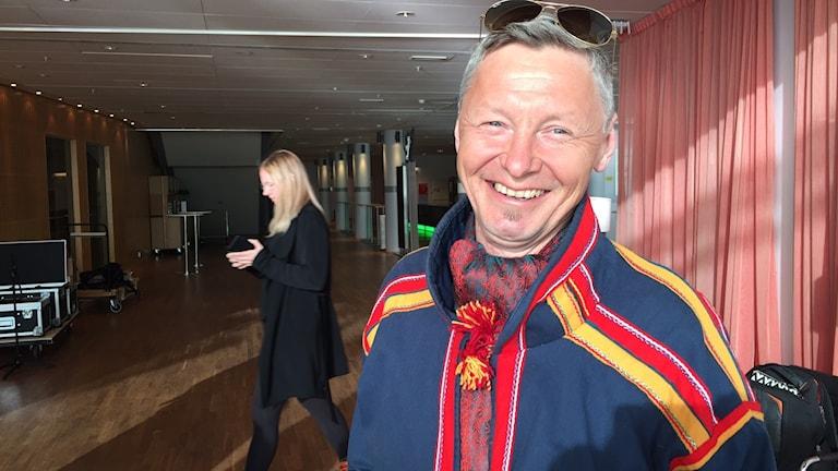 Per Olof Nutti axlar rollen som SPR:s ordförande med tillförsikt.