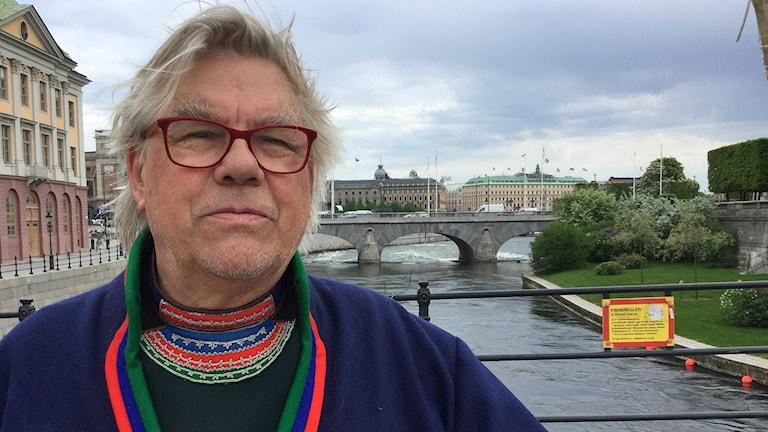 Pierre Åhrén, miljöaktivist och konstnär, Stockholm.