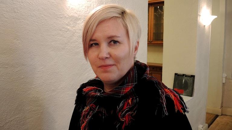 Christina Åhrén (MG). Foto: Sameradion & SVT Sápmi