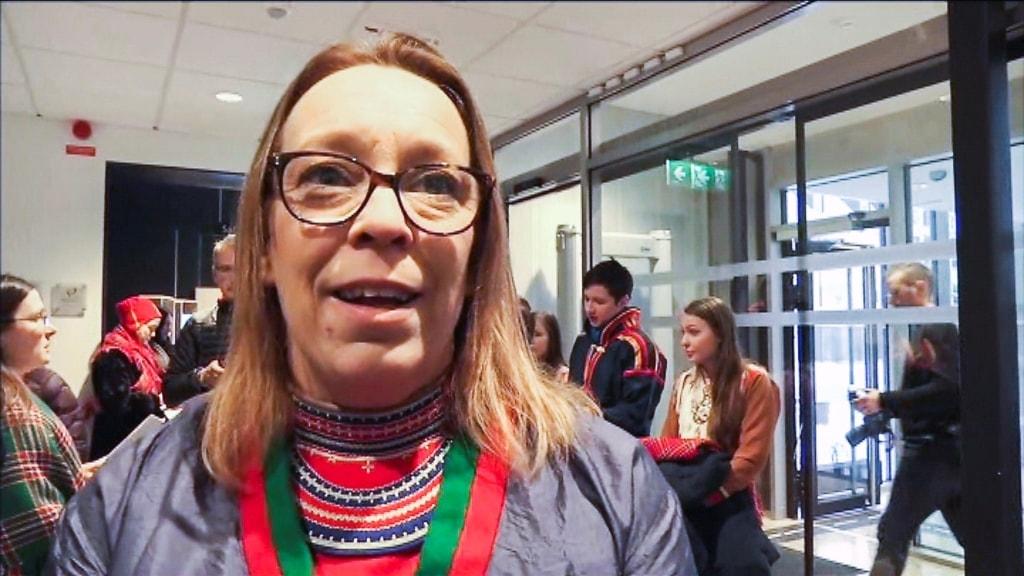 Jenny Wik Karlsson, förbundsjurist, Svenska samernas riskförbund.