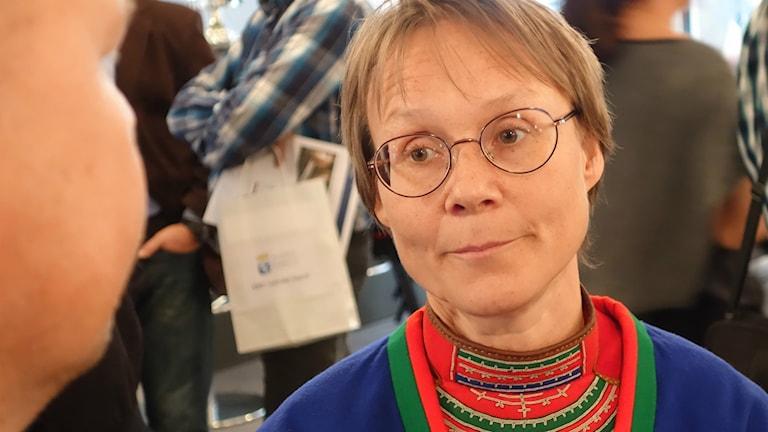 Marita Stinnerbom, ordförande för Sametingets rennäringsnämnd.