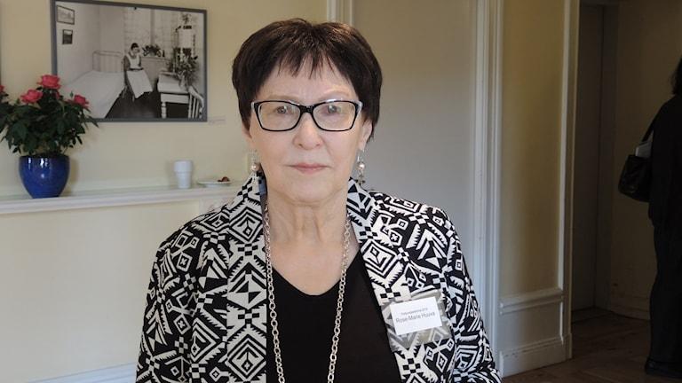 Rose-Marie Huuva. Foto: Sameradion & SVT Sápmi