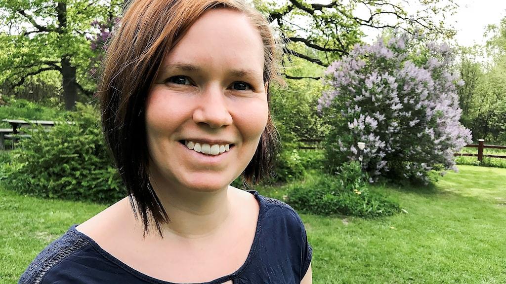 Marie-Helena Fjällås, (MP), kandiderar i landstingsvalet i Stockholm.